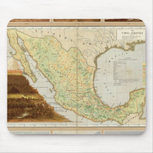 Agriculture of Mexico Mouse Pad