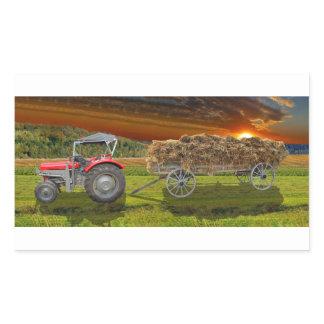 Agriculture Rectangular Sticker
