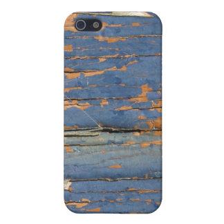 Agrietando y pelando la pintura iPhone 5 protectores
