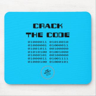 Agriete el código tapete de ratones