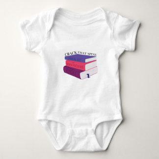 Agriete esa espina dorsal mameluco de bebé