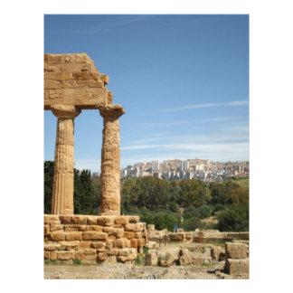 Agrigento, Sicily Letterhead