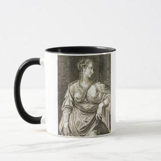 Agrippina wife of Tiberius (engraving) Mug