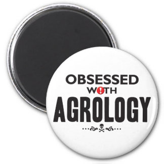 Agrology Obsessed 2 Inch Round Magnet
