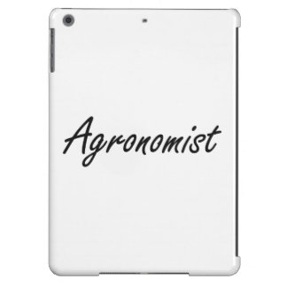 Agronomist Artistic Job Design Case For iPad Air