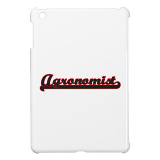 Agronomist Classic Job Design iPad Mini Covers