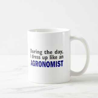 AGRONOMIST During The Day Classic White Coffee Mug