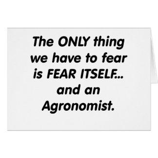 agrónomo del miedo felicitación