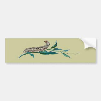 Agrotis pronuba caterpillar bumper sticker