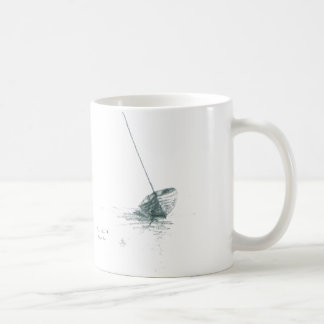 Aground at Low Tide Coffee Mug