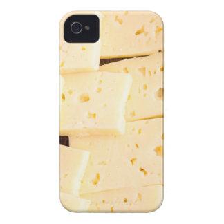 Agrupe el queso amarillo duro seco de las funda para iPhone 4 de Case-Mate