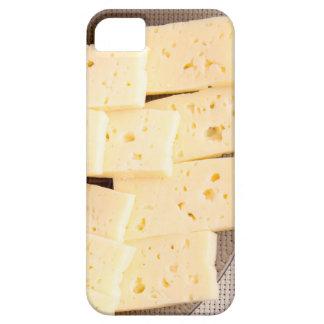 Agrupe el queso amarillo duro seco de las funda para iPhone SE/5/5s