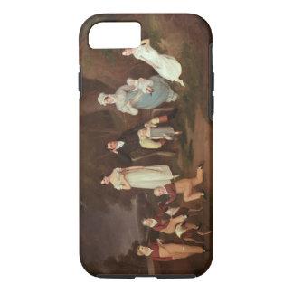 Agrupe el retrato de un escudero, de su esposa y funda iPhone 7