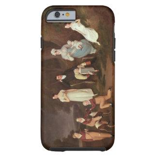 Agrupe el retrato de un escudero, de su esposa y funda resistente iPhone 6