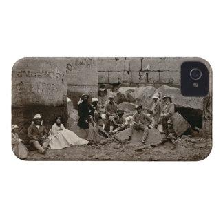 Agrupe la fotografía en el Pasillo de columnas, Funda Para iPhone 4