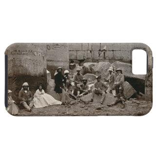 Agrupe la fotografía en el Pasillo de columnas, Funda Para iPhone SE/5/5s