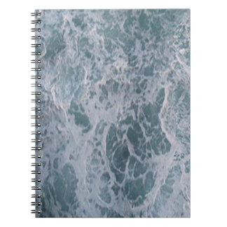 Agua abajo libros de apuntes