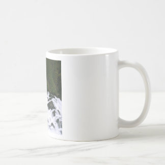 Agua antes de las caídas tazas de café