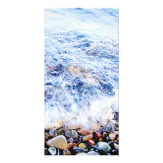 Agua azul de Photocard y una poca onda Tarjetas Fotograficas