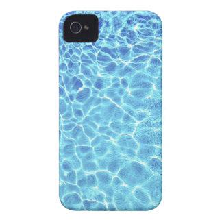 Agua azul iPhone 4 carcasas