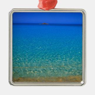 Agua azul islas de Exuma Bahamas Ornamento Para Reyes Magos