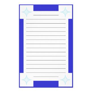 Agua (azul) papeleria personalizada