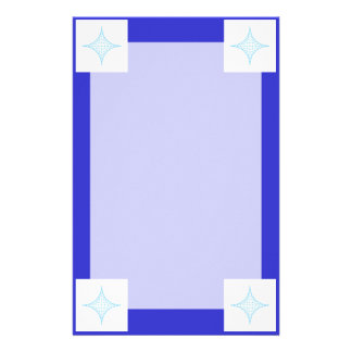 Agua (azul) personalized stationery