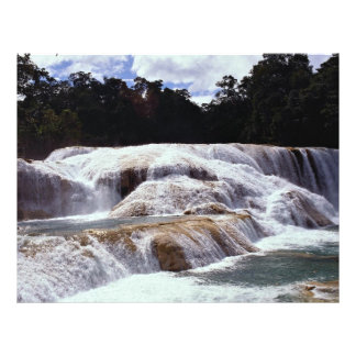 Agua Azul Waterfalls, Chiapas State, Mexico Flyer