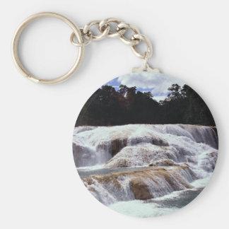 Agua Azul Waterfalls, Chiapas State, Mexico Keychain