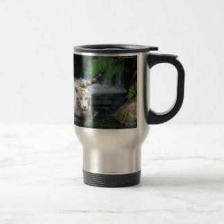 Agua blanca del tigre taza térmica