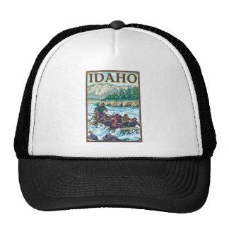 Agua blanca que transporta en balsa - Idaho Gorra