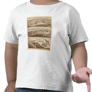 Agua blanca ranchos de Saucelito Camisetas