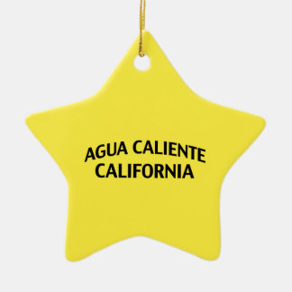 Agua Caliente California Ceramic Ornament