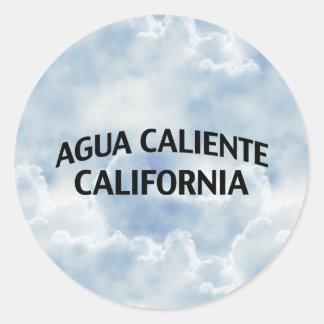 Agua Caliente California Classic Round Sticker