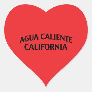 Agua Caliente California Heart Sticker