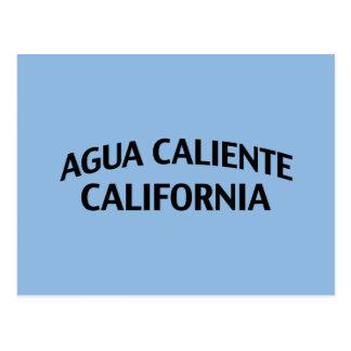 Agua Caliente California Postcard