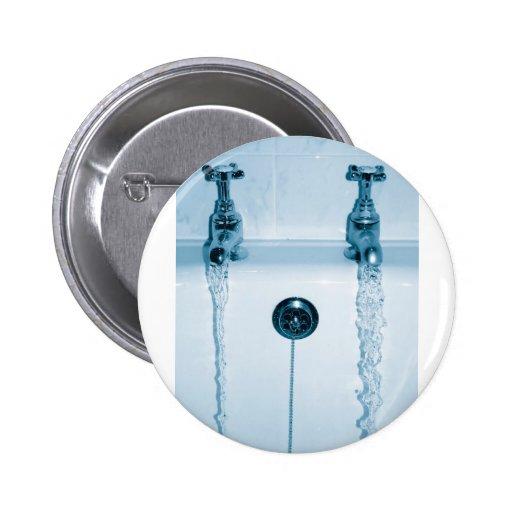 Agua caliente y fría, tiempo del baño, grifos corr pin redondo 5 cm