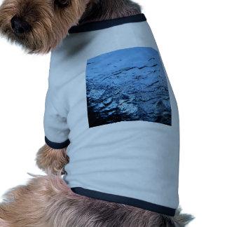 Agua Camiseta Con Mangas Para Perro