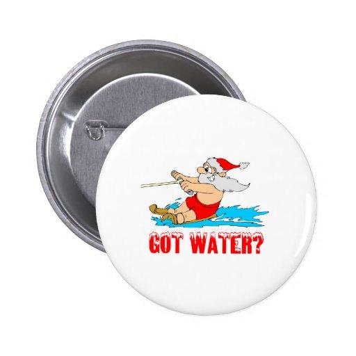 ¿Agua conseguida? Santa Pin Redondo 5 Cm