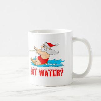 ¿Agua conseguida? Santa Taza