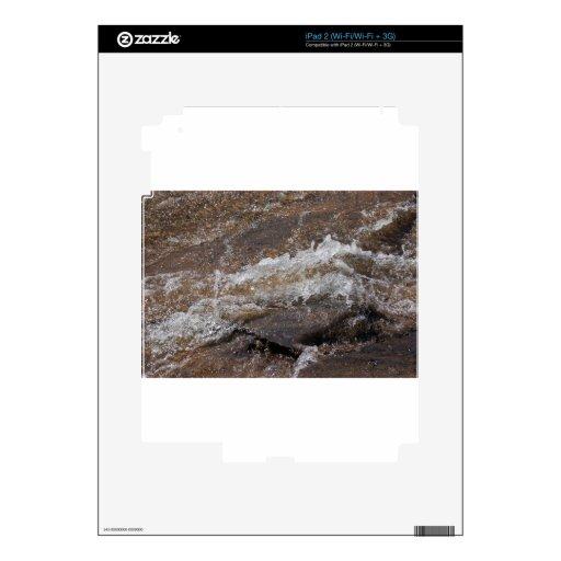 agua corriente 2 Zaz.JPG iPad 2 Calcomanía