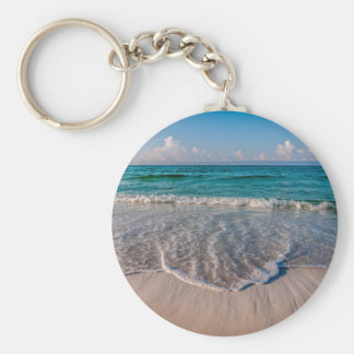 agua cristalina de la Florida en la playa Llaveros Personalizados