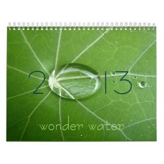 agua de 2013 maravillas calendarios