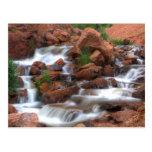 Agua de conexión en cascada postal