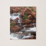 Agua de conexión en cascada rompecabezas
