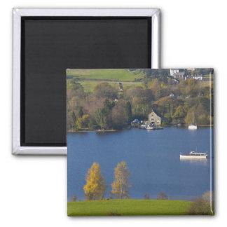 Agua de Coniston, distrito del lago, Cumbria, Ingl Imán De Frigorifico