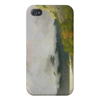 Agua de Derwent con Skiddaw en la distancia, c.179 iPhone 4 Carcasas