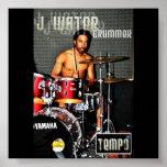 Agua de J Poster