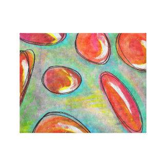 agua de la fresa lienzo envuelto para galerías
