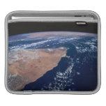 Agua de la reunión de la tierra en la tierra mangas de iPad